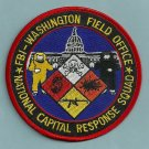 FBI Washington D.C. National Capitol Response Squad Patch