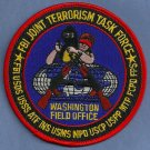 FBI Washington D.C. Joint Terrorism Task Force Patch