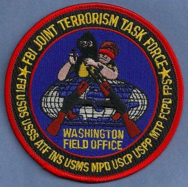 FBI Washington D.C. Joint Terrorism Task Force Patch