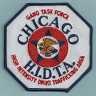 DEA Chicago HIDTA Gang Task Force Enforcement Police Patch