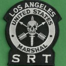 United States Marshal Los Angeles California SRT Police Patch with Velcro