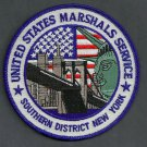 United States Marshal Southern District New York Police Patch