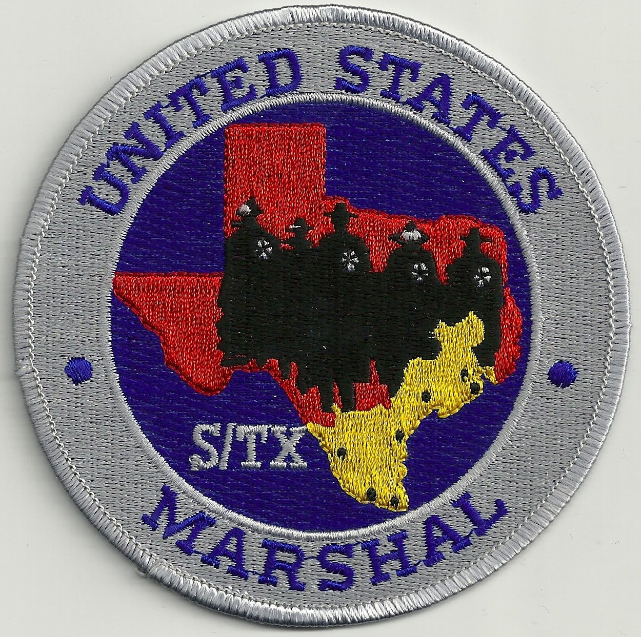 Marshall (TX) United States  city photos : United States Marshal South Texas Police Patch
