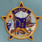 Alaska State Trooper Police Patch