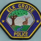 Elk Grove California Police Patch