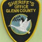 Glenn County Sheriff California Police Patch