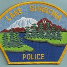 Lake Shastina California Police Patch