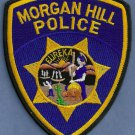 Morgan Hill California Police Patch