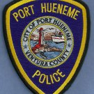 Port Hueneme California Police Patch