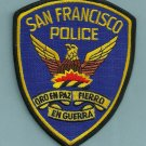 San Francisco California Police Patch