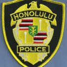 Honolulu Hawaii Police Patch