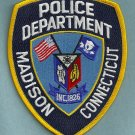 Madison Connecticut Police Patch