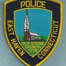 East Haven Connecticut Police Patch