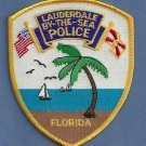 Lauderdale Lakes Florida Police Patch