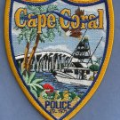 Cape Coral Florida Police Patch