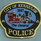 Kennesaw Georgia Police Patch Locomotive
