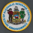 Delaware Alcoholic Beverage Control Police Patch