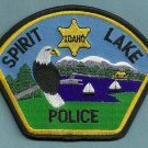 Spirit Lake Idaho Police Patch