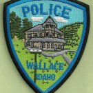 Wallace Idaho Police Patch