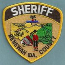 Benewah County Sheriff Idaho Police Patch