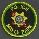 Maple Park Illinois Police Patch