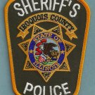 Iroqouis County Sheriff Illinois Police Patch