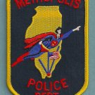 Metropolis Illinois Police Patch Superman