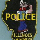 Chester Illinois Police Patch Home of Popeye