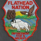Flathead Tribal Fish & Wildlife Enforcement Police Patch