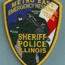 East Metro Illinois Police Sheriff ERT Patch