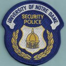 Notre Dame University Indiana Police Patch