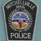 Mitchellville Iowa Police Patch