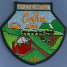 Colfax Iowa Police Patch