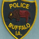 Buffalo Iowa Police Patch
