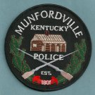Mundfordville Kentucky Police Patch