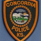 Concordia Kansas Police Patch