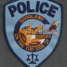 Goodland Kansas Police Patch