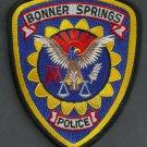 Bonner Springs Kansas Police Patch