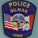 Gillman Iowa Police Patch