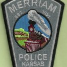 Merriam Kansas Police Patch