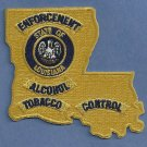 Louisiana State Alcohol & Tabacco Control Police Patch