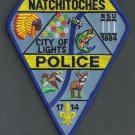 Natchitoches Louisiana Police Patch