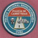 Cuba Nacional Policia de Carreteras Highway Patrol Police Patch