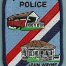Winterset Iowa Police Patch Home of John Wayne
