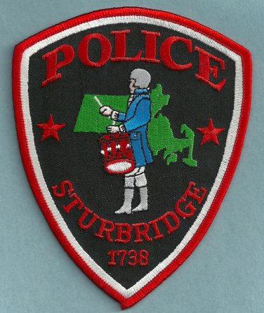 Sturbridge Massachusetts Police Patch