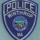 Winthrop Massachusetts Police Patch
