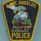 Lake Angelus Michigan Police Patch