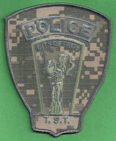 Troy Michigan Police TST SWAT Team Patch