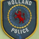 Holland Michigan Police Patch