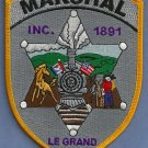 Le Grande Marshal Iowa Police Patch Locomotive